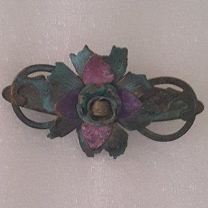 Multi-Color Floral PIN/BROACH